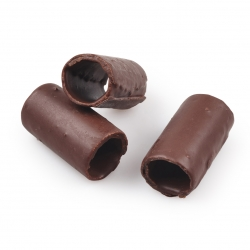Canneloni met chocolade