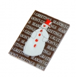 "Choc. plaatje puur ""seasons greetings"""